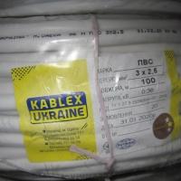 Провод ПВС 3х2,5 Каблекс (Одесса)