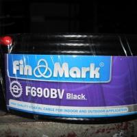 Кабель телевизионный finmark F690 черный